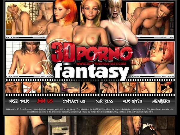 Active 3D Porno Fantasy Passwords