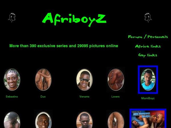 Afri BoyZ Gay