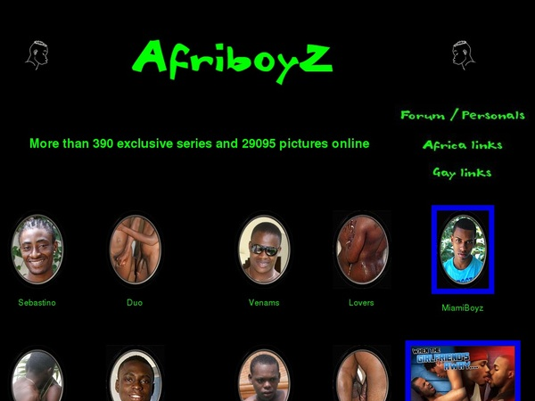 Afriboyz Wachtwoord