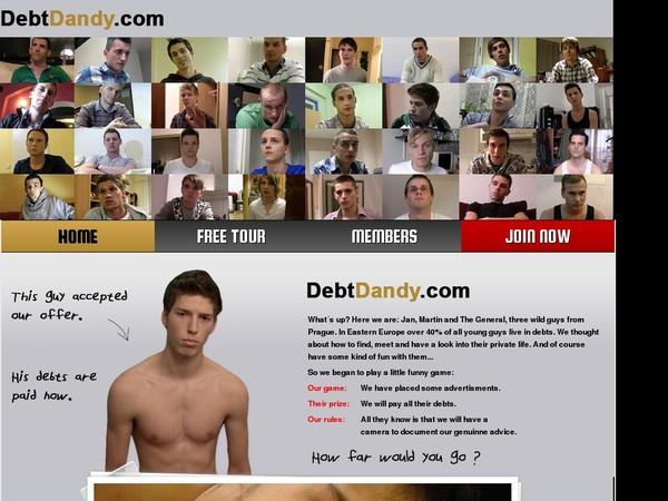 Debt Dandy With Visa