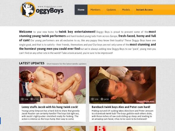 Doggy Boys Join With ClickandBuy