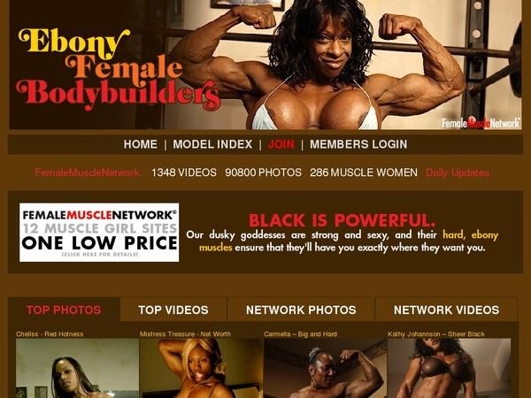 Ebony Female Body Builders Movie