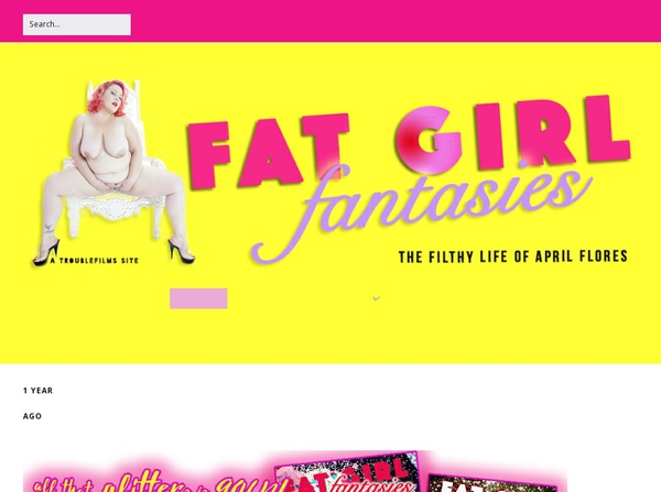 Fat Girl Fantasies Free Preview