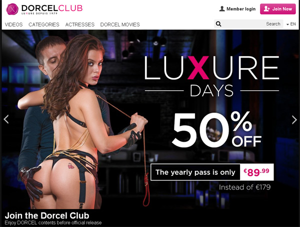 Free Acc For Dorcelclub