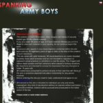 Free Account To Spanking Army Boys