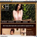 Free Karina Hart Account Logins