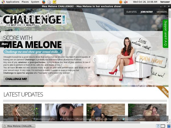 Free Melone Challenge Account Passwords