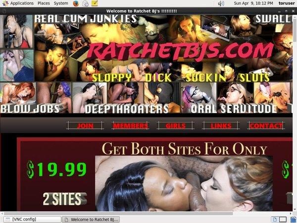 Get Free Ratchet BJs Passwords