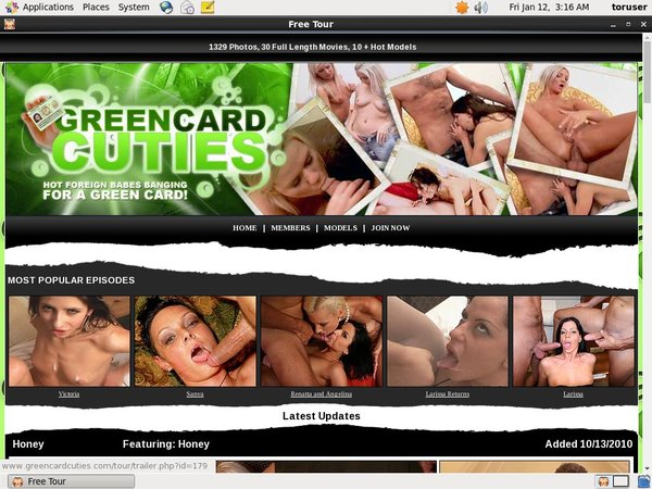 Greencardcuties Clips For Sale