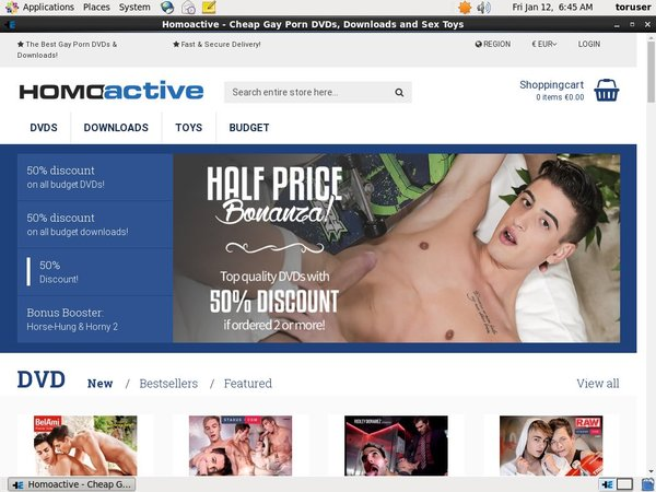 Homoactive Join