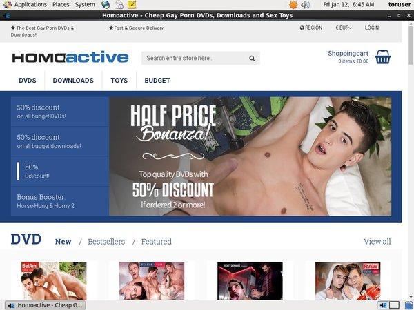 Homoactive Mit Bankkarte
