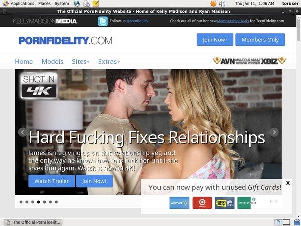 Pornfidelity Username