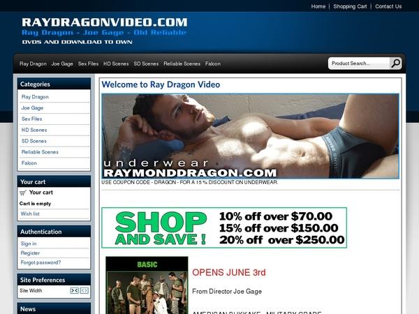 Raydragonvideo.com Login Passwords