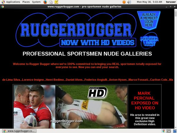 Rugger Bugger Account 2015