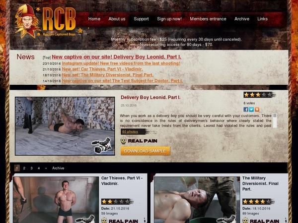 Ruscapturedboys.com Account Premium