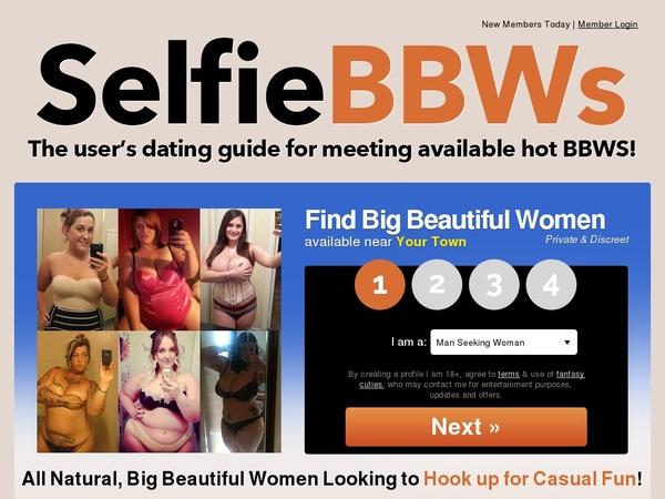 Selfie BBWs Password And Account