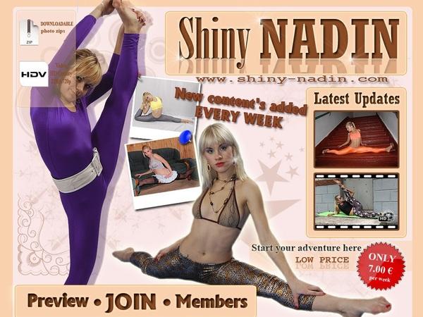 Shiny-nadin.com Free Entry