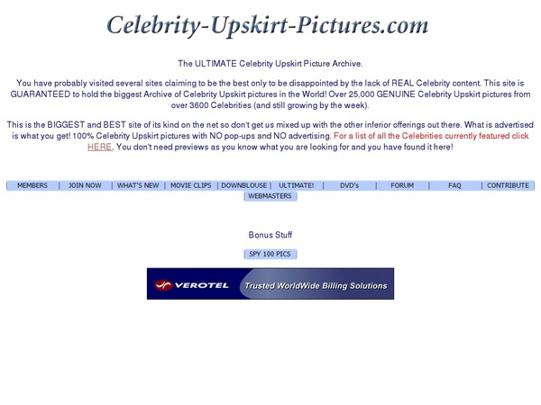 Sign Up Celebrity Upskirt Pictures