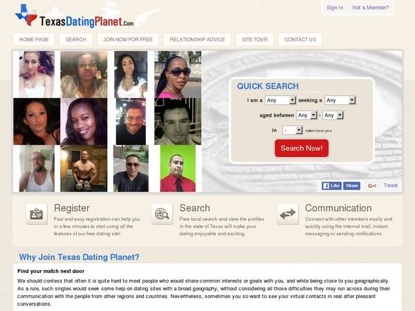 Texas Dating Planet Mobile