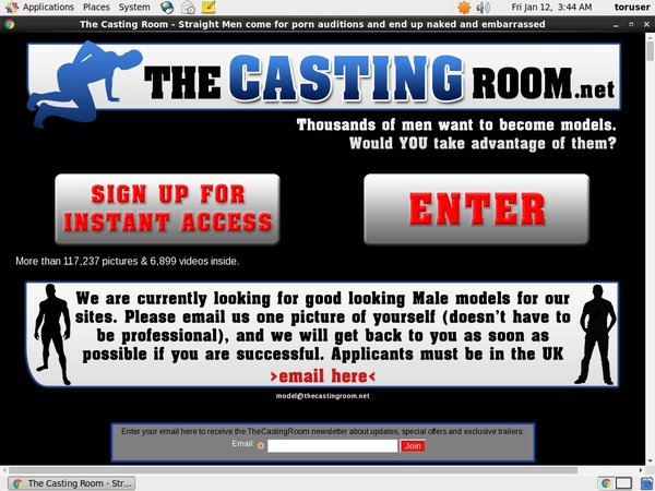 The Casting Room Vend-o.com