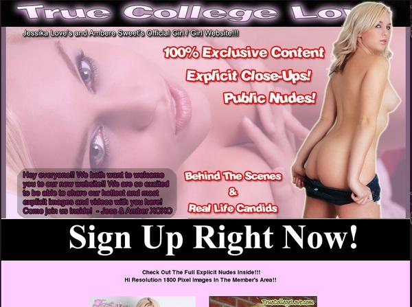 Truecollegelove.com Bank Payment