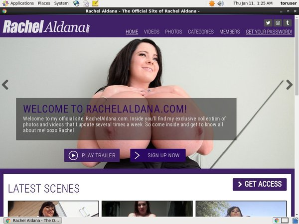 Valid Rachel Aldana Passwords