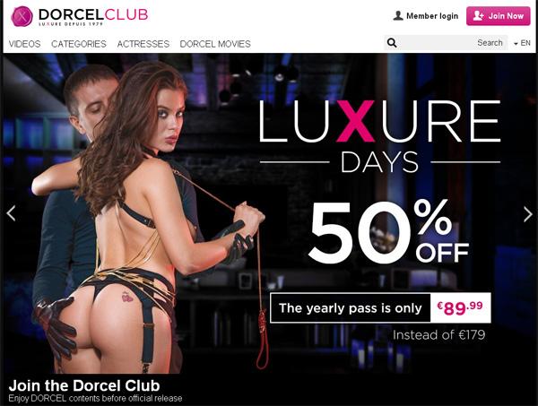 Dorcel Club Accont