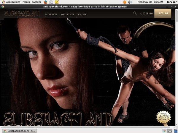 Subspaceland.com Acc Premium