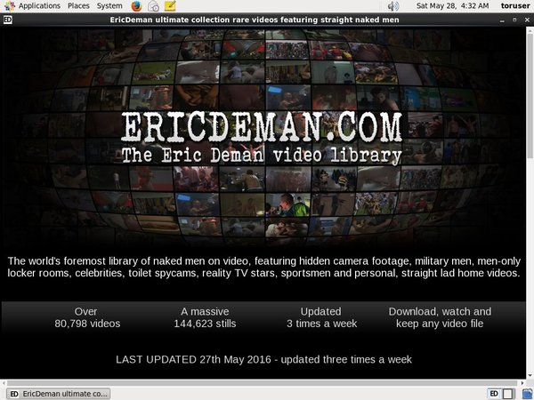 How To Join Eric Deman