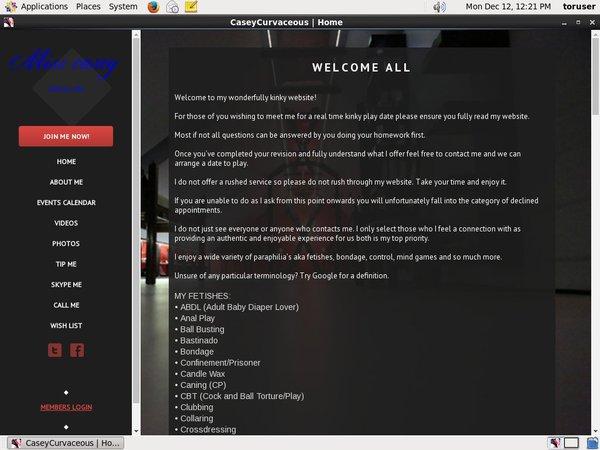 Valid Casey-curvaceous.com Passwords