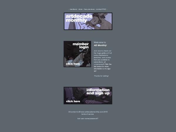Art Decade Monthly Account Blog