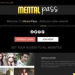 Mental Pass Mit Bankkarte
