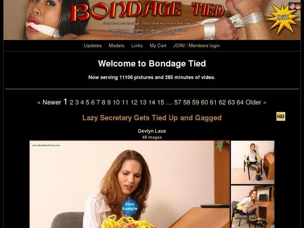 Accounts For Bondage Tied