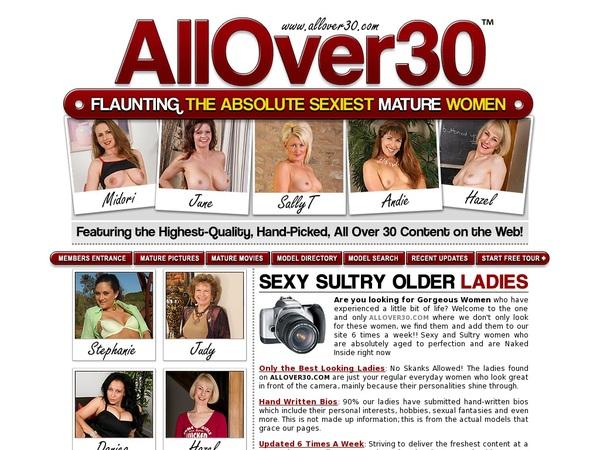 All Over 30 Original Pro Biller Page