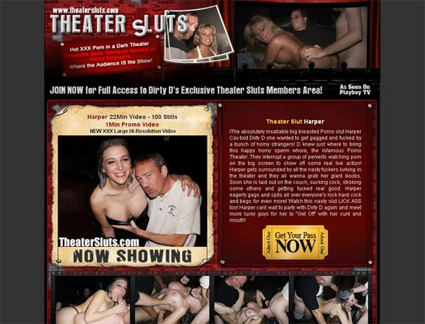 Theater Sluts Promo Code