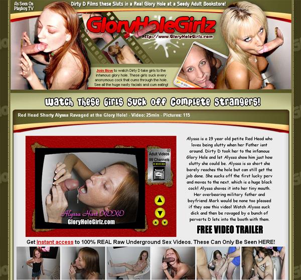 Glory Hole Girlz Vend-o.com