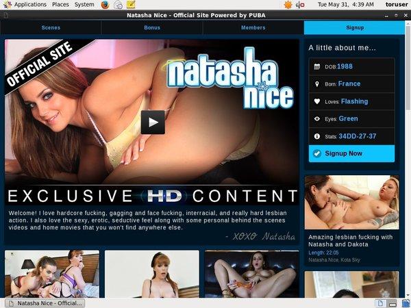 Natasha Nice Pass Premium