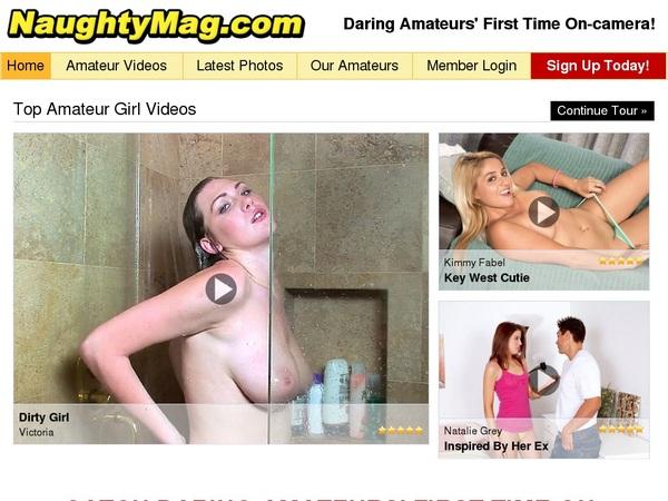 Naughty Mag Ad