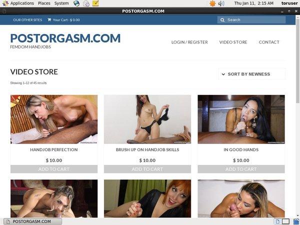 Post Orgasm Pago