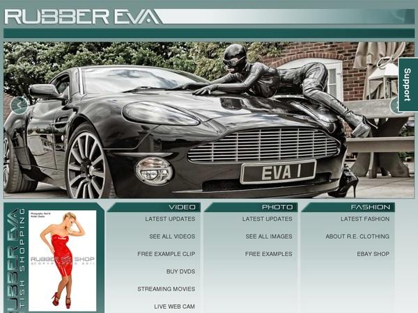 Rubber Eva Site Passwords