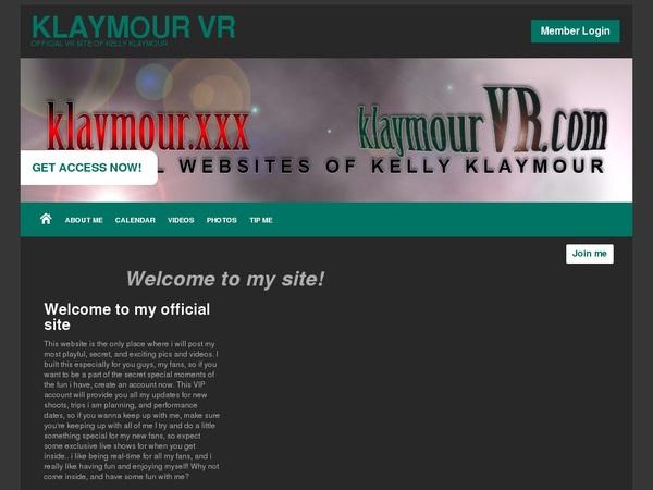 KlaymourVR Fresh Passwords