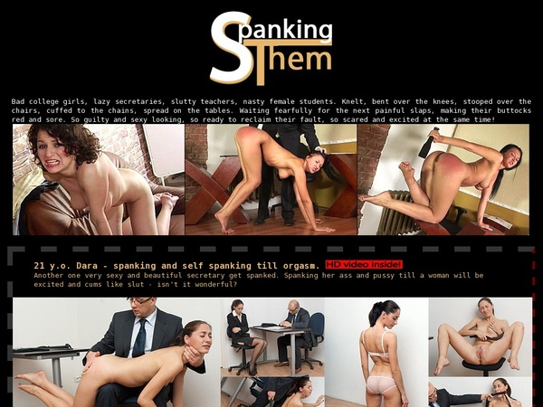 Spankingthem.com Parola D'ordine Gratuito