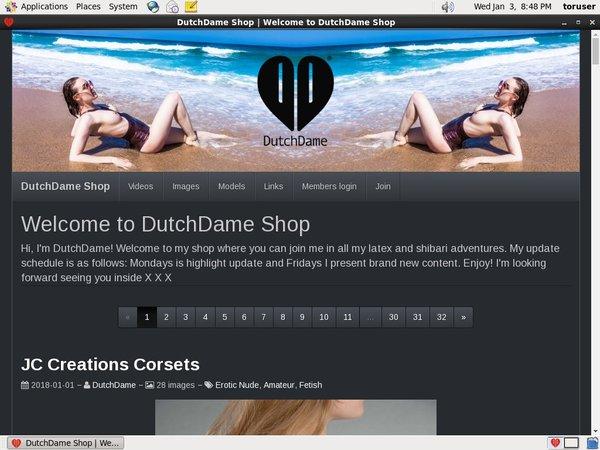 Dutchdame.compassword Free